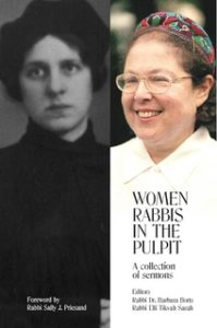 women rabbis in the pulpit cover